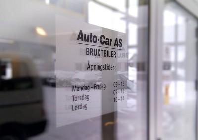 Frosting av vinduer i kontorlandskap