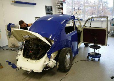 Fra en sliten gammel Herbie til en nymoderne Rema1000-boble